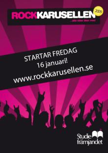 Start för Rockkarusellen 2009 i Sörmland