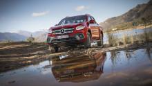 Välkommen på presskörning, nya Mercedes-Benz X-Klass!