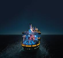 Royal Caribbeans nyeste skib, Symphony of the Seas, er under bygning og vil, når det står klart, blive verdens største cruiseskib – endda lidt større end sine 3 søsterskibe.