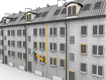 Äntligen en miljögodkänd fasadfog – Säg välkommen till SikaHyflex-402 Connection!