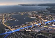 Jönköpings kommun kan vinna pris för stadsplaneringen runt Munksjön