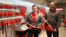 Motek åpner i Alta - blir verdens nordligste butikk med Hilti-produkter