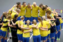Många debutanter i Sveriges damtrupp till student-VM