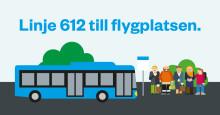 Premiär för ny busslinje till Göteborg Landvetter Airport
