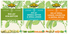 Zeta serverar en skönare och grönare vardag med nytt alternativ till ris gjort av baljväxter