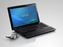 New VAIO F Series brings your 3D world to life:  Full HD 3D Blu-ray Disc notebook with one-touch 3D button