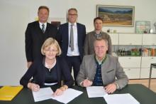 Grassau und das Bayernwerk verlängern ihre über 100-jährige Partnerschaft
