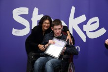 ​16 year-old stroke survivor receives regional recognition