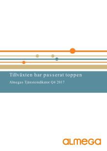Almegas Tjänsteindikator Q4 2017