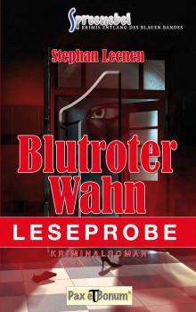 "Pax et Bonum Verlag Berlin Leseprobe Buch: Kimiroman  ""Blutroter Wahn"""
