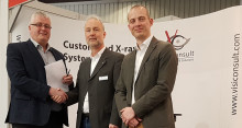 Ohm & Haener signs big order for new VisiConsult X-ray system on the Euroguss show