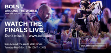 Bols Around the World 2014 - finale i Amsterdam 20.05.2014