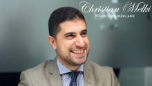 Christian Melki - månadens mäklare i juni