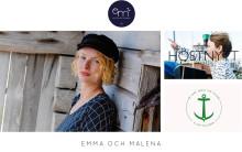 emma och malena skickar kläder effektivt med hjälp av Textalk, Specter och Unifaun Online