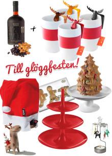 Tomteluva till lådvinet, avbitna pepparkaksgubbar och 3D julgranskaka lyfter glöggfesten till nya höjder