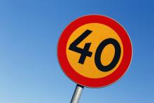 Nu ska över 1 000 hastighetsskyltar bytas ut i Norrköpings kommun
