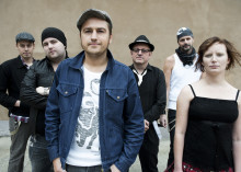 SIR REG som rankas högst bland världens Celtic Folk Punk band ska ut på turne