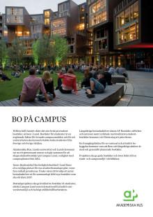 Studentbostadsutredning, Campus Lund