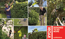 Hold fødderne på jorden – nye havemaskiner fra RYOBI® med ekstra lang rækkevidde