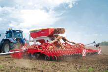 Trejon lanserar Pöttingers såmaskin TERRASEM på den Svenska marknaden under Elmia Lantbruk
