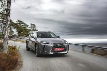 Premiär för nya elhybriden Lexus UX - svenska priser fastställda