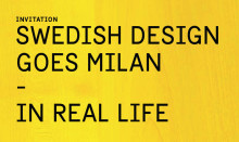 Events during Swedish Design Goes Milan – In Real Life