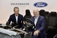 Ford – Volkswagen utökar sitt globala samarbete inom autonom körning, elektrifiering och kundservice