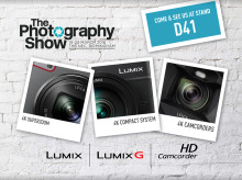 ​Panasonic to exhibit at The Photography Show with Olympic themed stand