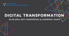 Inbjudan till pressträff under Sveriges Innovationsriksdag 2017