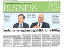 Surbana Jurong buying SMEC for $400m