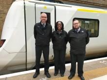 King's Cross rail staff get set for fundraising moonlit trek across London