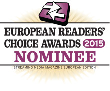 Xstream is nominated in 6 categories for the Streaming Media Readers Choice Award 2015