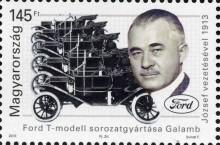 137 éve született Galamb József, a Ford T modell főkonstruktőre