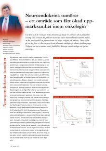 Professor Kjell Öberg: Uppseendeväckande resultat för nordisk studie av neuroendokrina tumörer, ASCO 2012