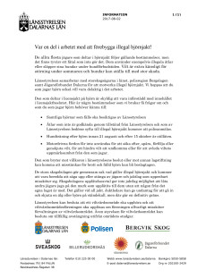 Informationsbrev björnjakt 2017