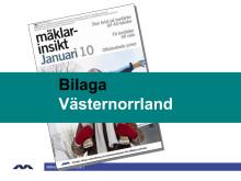 Mäklarinsikt januari 2010: Västernorrland