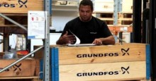 Blygsam tillväxt för Grundfos första halvåret