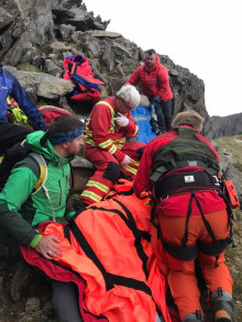ACR Electronics: Hiker Calls for Safety Warnings Near Crib Goch Ridge after Woman Suffers Serious Fall