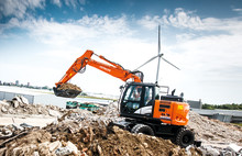 Stabil hjulgrävare med ännu starkare motor
