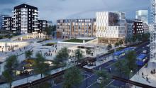 Ny detaljplan för 1 600 bostäder och tunnelbana i Järfälla
