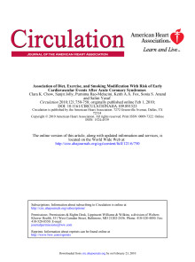 Studie om bl a växtsteroler: Journal of the American Heart Association