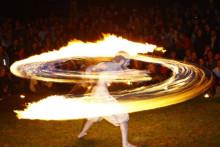 Nordens häftigaste eldshow på nordens första Fringe