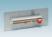 New panel feed-through terminal blocks with Push-in spring connection