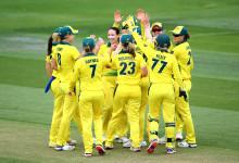 Australia Win By Seven Wickets At Hove