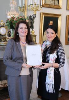Paria Karimi Neghlani – en stolt Global Swede