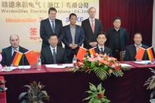 Weidmüller ingår samarbetsavtal med ett kinesiskt bolag