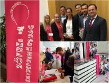 Founders Alliance entreprenörer berättade om sin brinnande passion för entreprenörskapet på SÖFREs Entreprenörsdag
