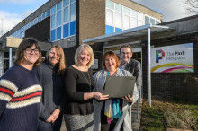 Knowle becomes 50th community to benefit from nationwide high-speed fibre broadband grant