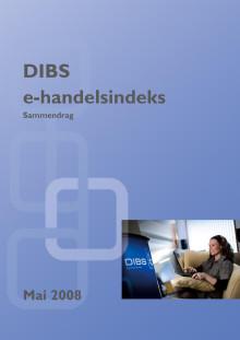 DIBS E-handelsindeks mai 2008