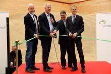 Lantmännens spannmålsanläggning i Hargshamn är invigd